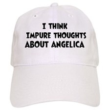 Angelica (impure thoughts} Baseball Cap