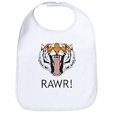 Tiger Rawr Bib