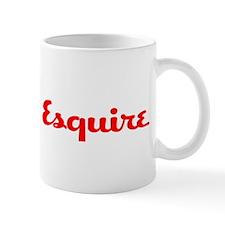 Unique Esquire Mug