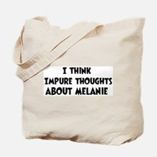 Melanie (impure thoughts} Tote Bag