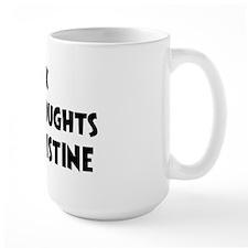 Christine (impure thoughts} Mug