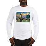 Saint Francis / Beagle Long Sleeve T-Shirt