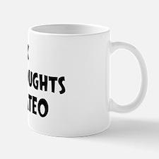Mateo (impure thoughts} Mug