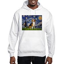 Starry Night & Beagle Hoodie