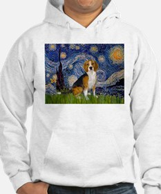 Starry Night & Beagle Hoodie