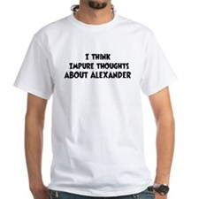 Alexander (impure thoughts} Shirt