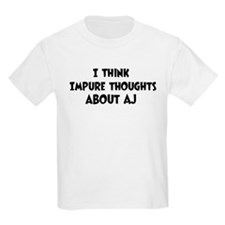 Aj (impure thoughts} T-Shirt