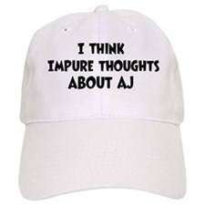 Aj (impure thoughts} Baseball Cap