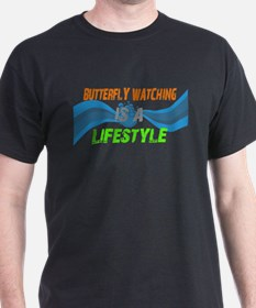 butterfly watching lifestyle T-Shirt