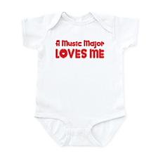 A Music Major Loves Me Infant Bodysuit