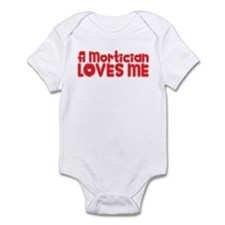A Mortician Loves Me Onesie