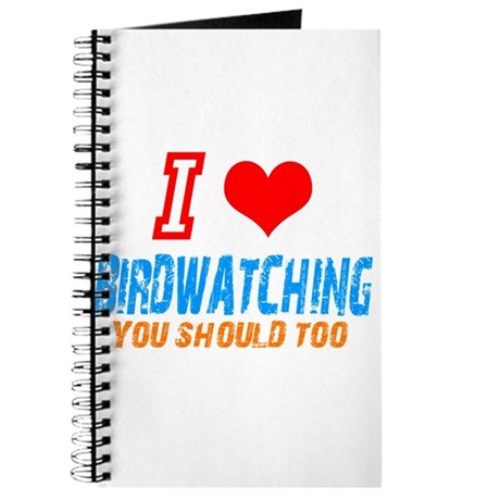 i love birdwatching Journal