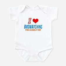 i love birdwatching Infant Bodysuit