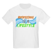 Funny Feed birds T-Shirt