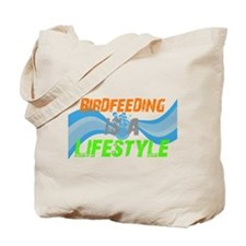 Cute Feeder birds Tote Bag