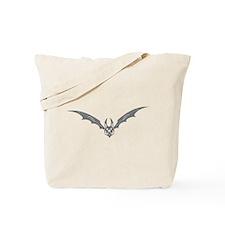 Bat #6 Gray Tote Bag