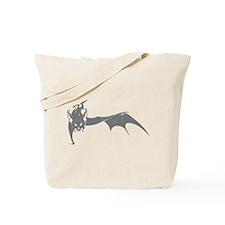Bat #4 Gray Tote Bag