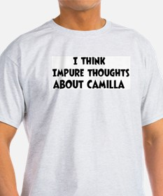 Camilla (impure thoughts} T-Shirt