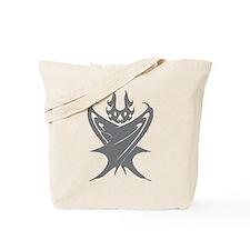 Bat #2 Gray Tote Bag