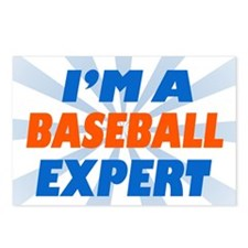 Baseball Expert Postcards (Package of 8)