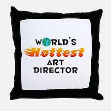 World's Hottest Art d.. (C) Throw Pillow