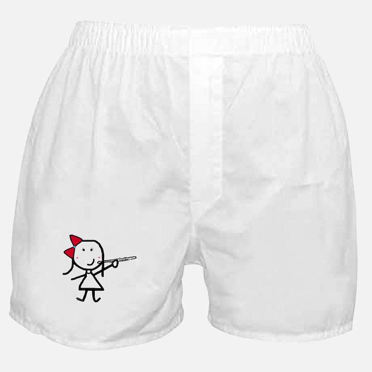 Girl & Flute Boxer Shorts