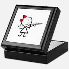 Girl & Flute Keepsake Box