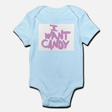 I Want Candy Infant Creeper