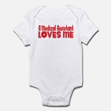 A Medical Assistant Loves Me Infant Bodysuit