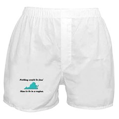 Nothing could be fina Boxer Shorts