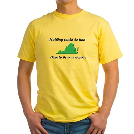 Nothing could be fina Yellow T-Shirt