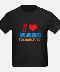 Cute Arts and crafts T