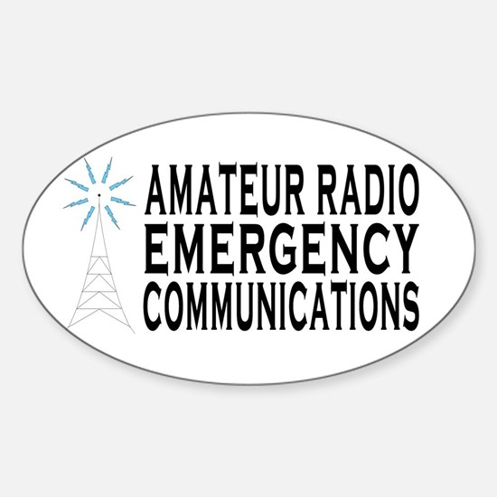EM COMM Oval Decal