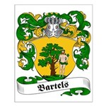 Bartels Family Crest Small Poster