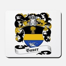 Bauer Family Crest Mousepad