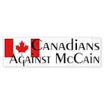 Canadians Against McCain bumper sticker