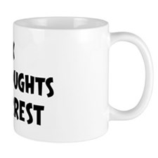 Forrest (impure thoughts} Mug