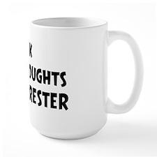 Forrester (impure thoughts} Mug