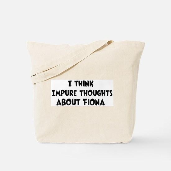 Fiona (impure thoughts} Tote Bag