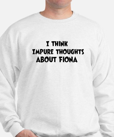 Fiona (impure thoughts} Sweater