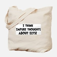 Elyse (impure thoughts} Tote Bag