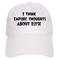 Elyse (impure thoughts} Baseball Cap
