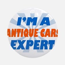 Im a Antique Cars Expert Ornament (Round)
