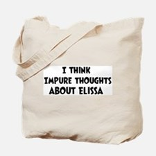 Elissa (impure thoughts} Tote Bag