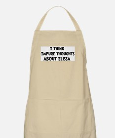 Elissa (impure thoughts} BBQ Apron
