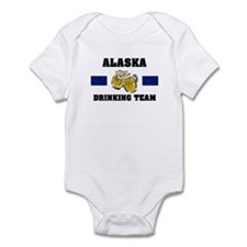 Alaska Drinking Team Infant Bodysuit