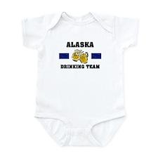 Alaska Drinking Team Onesie