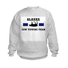 Alaska Cow Tipping Team Sweatshirt