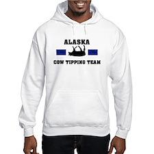 Alaska Cow Tipping Team Hoodie