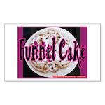 Funnel Cake Rectangle Sticker